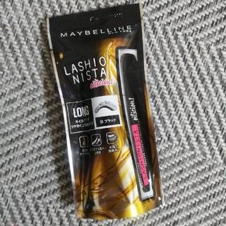 メイベリン(MAYBELLINE)の新品 メイベリン ラッシュニスタ オイリシャス 01ブラック (マスカラ)