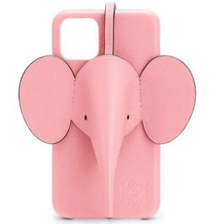 ロエベ(LOEWE)のLOEWE iphone11ケース ピンク(iPhoneケース)