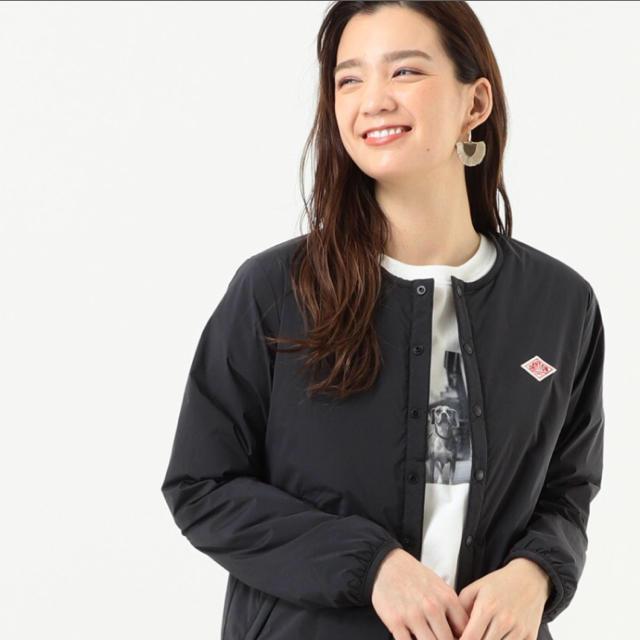 DANTON(ダントン)の【新品⭐️即日配送◡̈⃝】DANTON インサレーションジャケットブラック36 レディースのジャケット/アウター(ノーカラージャケット)の商品写真