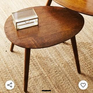 ZARA HOME - (送料込み) zara home ウッドテーブル 木製 ローテーブル