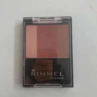 リンメル(RIMMEL)のリンメル スリーインワン モデリングフェイスブラッシュ(チーク)