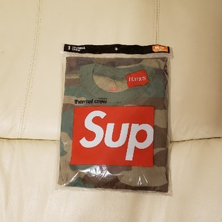 シュプリーム(Supreme)のシュプリーム カモフラ サーマル M(Tシャツ/カットソー(七分/長袖))