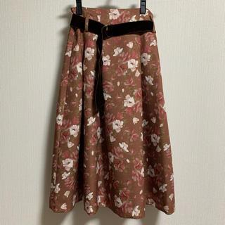 dazzlin - dazzlin オーガストガーデンスカート