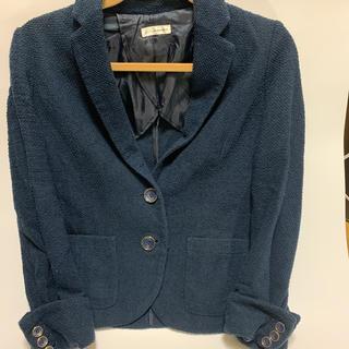 アーヴェヴェ(a.v.v)の【送料込】春夏スーツ ジャケット Sサイズ(スーツ)