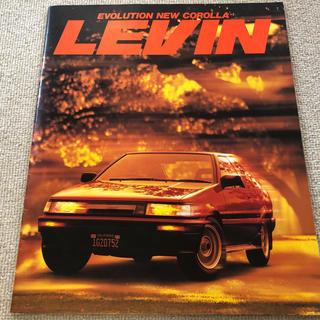 トヨタ - AE86  カローラレビン  カタログ