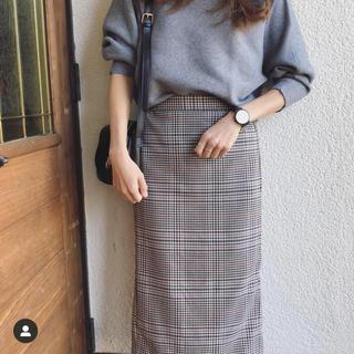 GU - ナローミディスカート