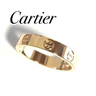 カルティエ(Cartier)のカルティエ Cartier ラブリング PG ピンクゴールド 51号 保証書有(リング(指輪))