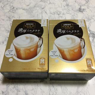 Nestle - ネスカフェ 濃厚ミルクラ 2箱