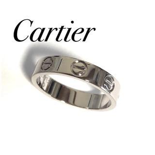 Cartier - カルティエ Cartier K18WG ラブリング 47号 保証書有