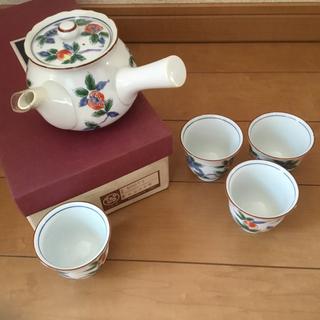 庫山窯★新品 急須 茶器セット 1345(グラス/カップ)