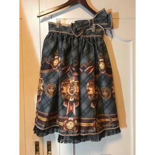 アリスアンドザパイレーツ(ALICE and the PIRATES)のBAROQUE Homecoming catスカート+カチューシャ(ひざ丈スカート)