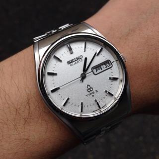 SEIKO - SEIKO セイコー TYPE2 クォーツ腕時計 稼働品