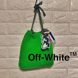 OFF-WHITE - レア!◁◀︎OFF-WHITE▶︎▷ drawstring pouch bag
