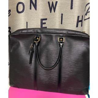 LOUIS VUITTON - 【Louis Vuitton】ビジネスバッグ★ エピ メンズ 黒色