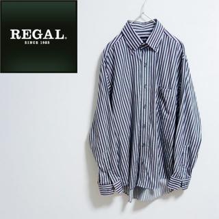 リーガル(REGAL)のREGAL リーガル 長袖シャツ BDシャツ ストライプシャツ(シャツ)