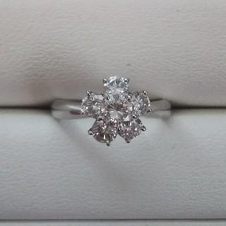 Pt900 ピンクダイヤモンド×ダイヤモンドリング(リング(指輪))