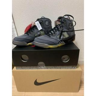ナイキ(NIKE)の27.0cm Nike Air Jordan5 off white(スニーカー)