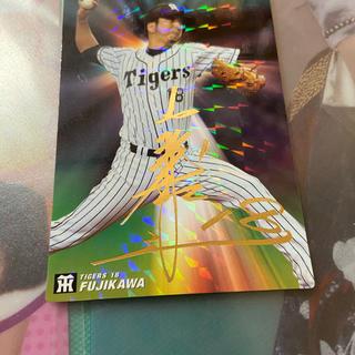 ハンシンタイガース(阪神タイガース)の2016年 プロ野球チップス スターカード サイン入り 藤川球児投手(スポーツ選手)