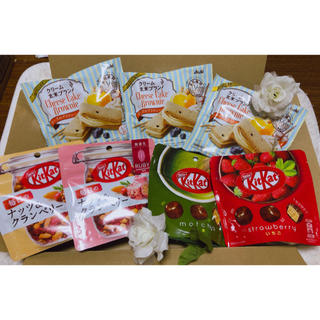 アサヒ - 箱いっぱい❣️ クリーム玄米ブラン チーズケーキのブラウニーとキットカット