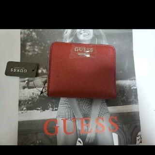 GUESS - 【大人気】GUESS ゲス 折り財布 ミニ財布 レッド