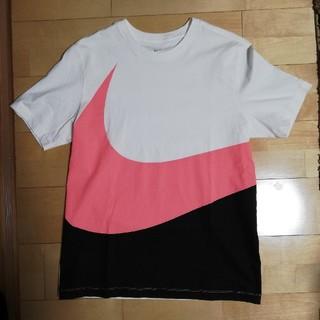 NIKE - NIKE ビッグスウォッシュTシャツ ピンク