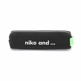 niko and... - ニコアンド ペンケース ブラック