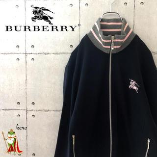 【人気】バーバリー ブラックレーベル リブライン フルジップ  ジャケット