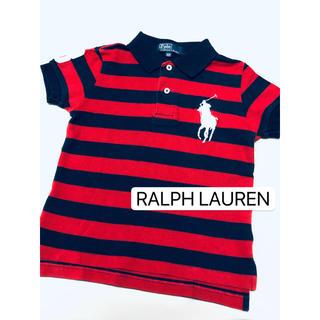 POLO RALPH LAUREN - ラルフローレン POLO ボーダー ポロシャツ 美品 100