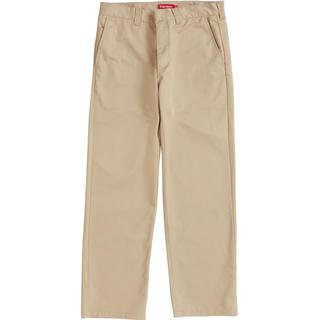 Supreme - supreme  work pants 32インチ カーキ