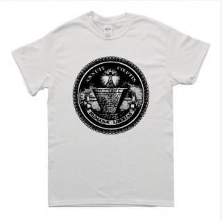 フリーメイソン風 イラスト 半袖 Tシャツ git2(Tシャツ/カットソー(半袖/袖なし))