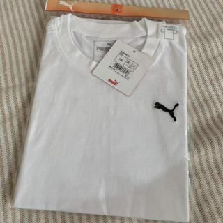 プーマ(PUMA)の【未使用品】プーマ ワンポイントTシャツ 120(Tシャツ/カットソー)