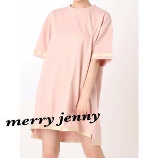 メリージェニー(merry jenny)の新品꙳★*゜merry jenny メリージェニー Tシャツ  ピンク(Tシャツ(半袖/袖なし))