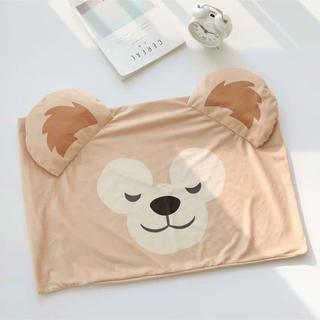 ダッフィー(ダッフィー)の日本未発売 ダッフィー  枕カバー ピロケース   新商品 ラス1(クッションカバー)