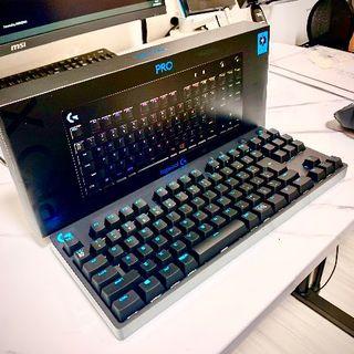 Logicool G PRO X ゲーミングキーボード G-PKB-002 青軸(PC周辺機器)