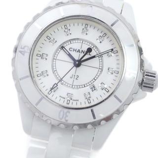シャネル(CHANEL)のシャネルJ12 12Pダイヤ(腕時計)