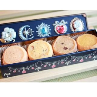 ハッピージュエリー缶 クッキー お菓子のミカタ(菓子/デザート)