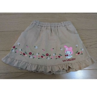 サンリオ(サンリオ)のマイメロディ スカート 90サイズ(スカート)