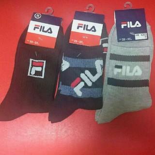 フィラ(FILA)のFILA 靴下 3足まとめ売り(ソックス)