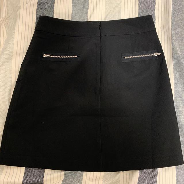 Bubbles(バブルス)のMelt the lady ファスナースリットミニスカート レディースのスカート(ミニスカート)の商品写真