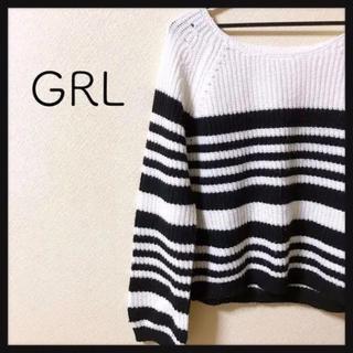 GRL - GRL⭐️ボーダーニット