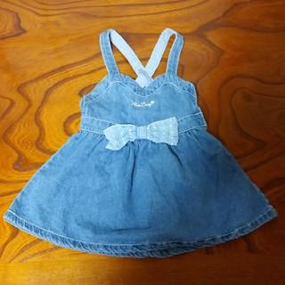 ベベ(BeBe)の▪キッスドロップ ♡ ジャンパースカート(スカート)