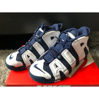 NIKE - NIKE AIR MORE UPTEMPO OLYMPIC 24cm