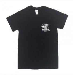 ドクロ ギャング ロゴ 半袖 Tシャツ git36-2(Tシャツ/カットソー(半袖/袖なし))
