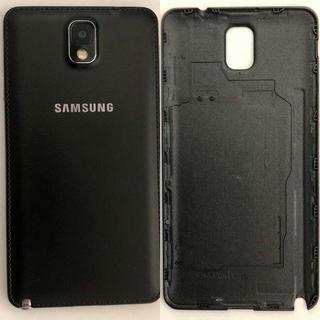 サムスン(SAMSUNG)の新品 Galaxy note3 サムスン SAMSUNG バッテリーカバー 黒(Androidケース)