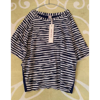 アントニオマラス(ANTONIO MARRAS)の⭐️新品⭐️Antonio marras⭐️ボーダーチュニック⭐️42(L)⭐️(Tシャツ/カットソー(半袖/袖なし))