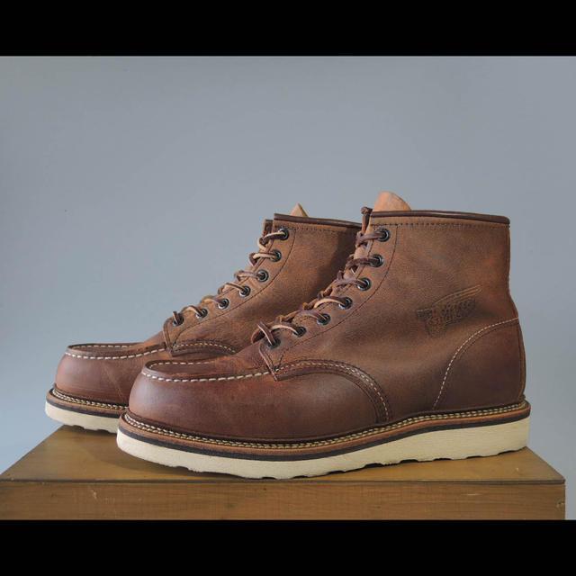 REDWING(レッドウィング)のレッドウィング1907アイリッシュセッターラフ&タフ羽タグ8875 875 メンズの靴/シューズ(ブーツ)の商品写真