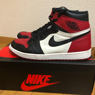 NIKE - AIR JORDAN 1 BRED TOE