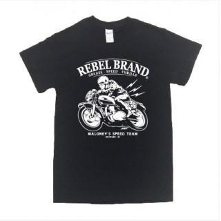 バイカー系 バイク イラスト 半袖 Tシャツ git12(Tシャツ/カットソー(半袖/袖なし))