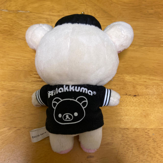 福岡ソフトバンクホークス(フクオカソフトバンクホークス)の福岡ソフトバンクホークス×リラックマキーホルダー スポーツ/アウトドアの野球(応援グッズ)の商品写真