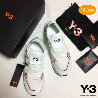 ワイスリー(Y-3)の新品■UK9.5■28cm■Y-3 adizero runner■白■7983 (スニーカー)